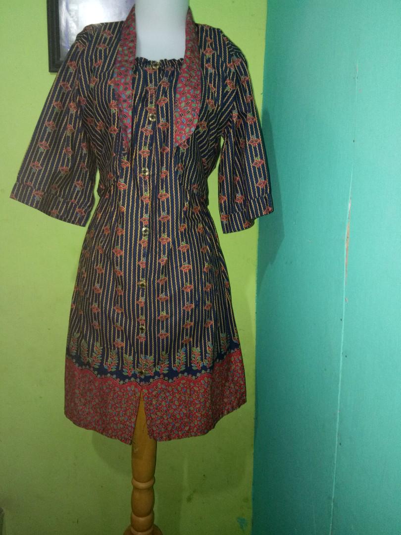 Midi dress batik