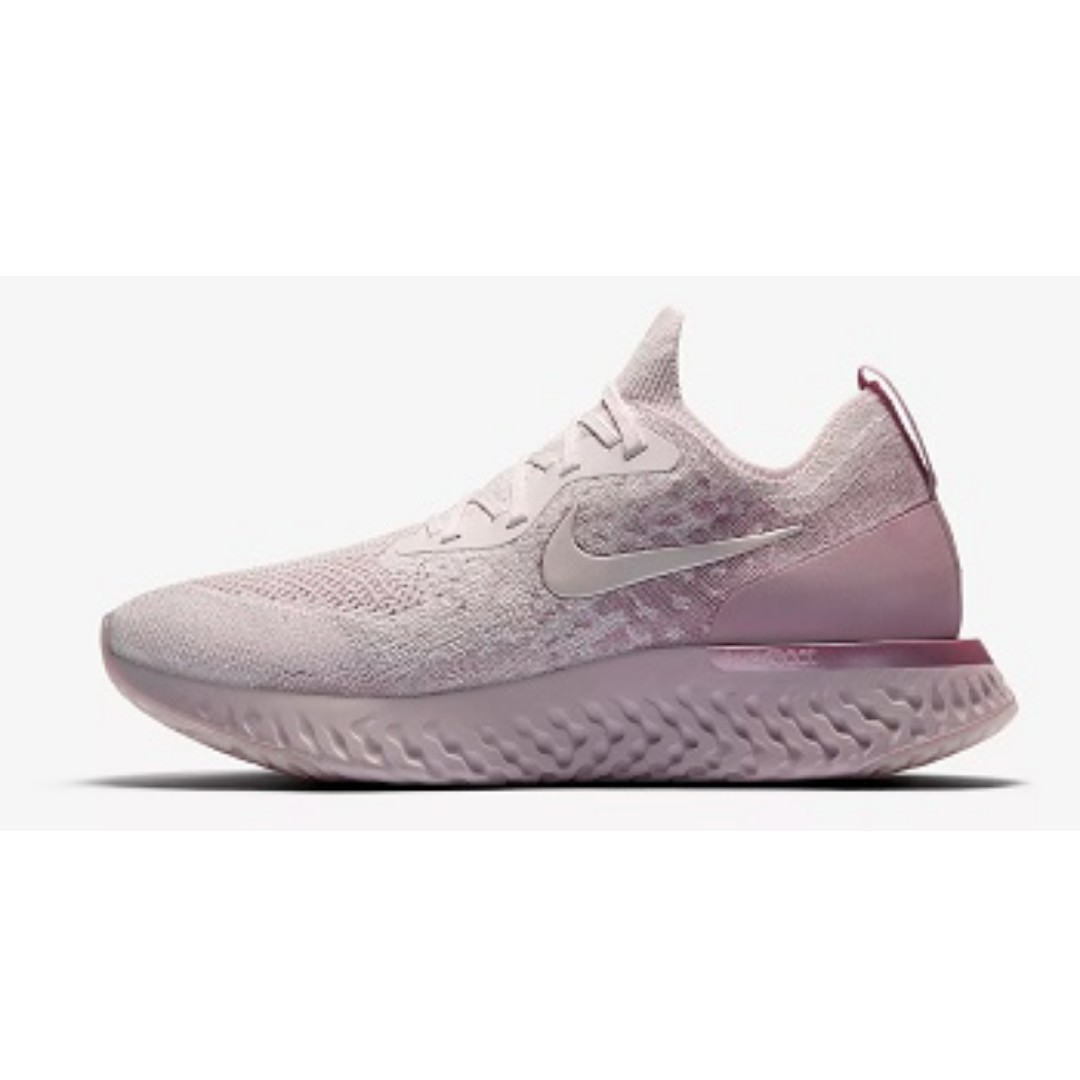 8c236d469418 Nike Epic React Flyknit ( Pearl Pink Barely Rose)