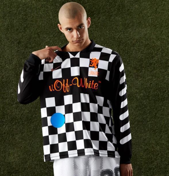 Nike x Off-White Checkered Jersey, Men