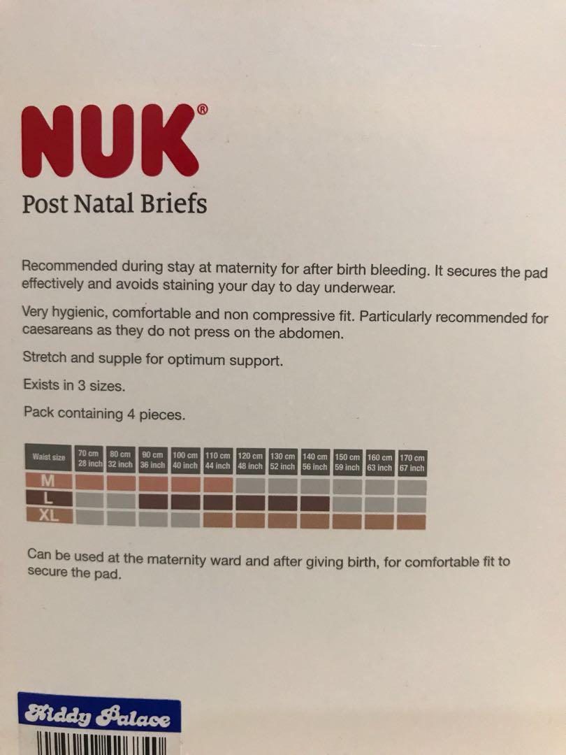 NUK Post Natal Briefs