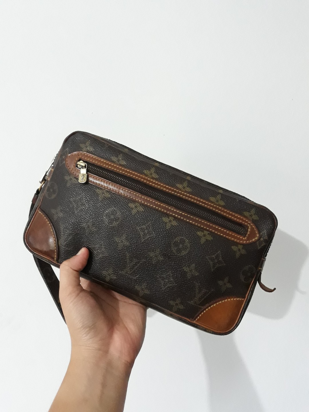fe4cebae2531e Original Vintage Louis Vuitton MM Marly dragonne (the early version ...