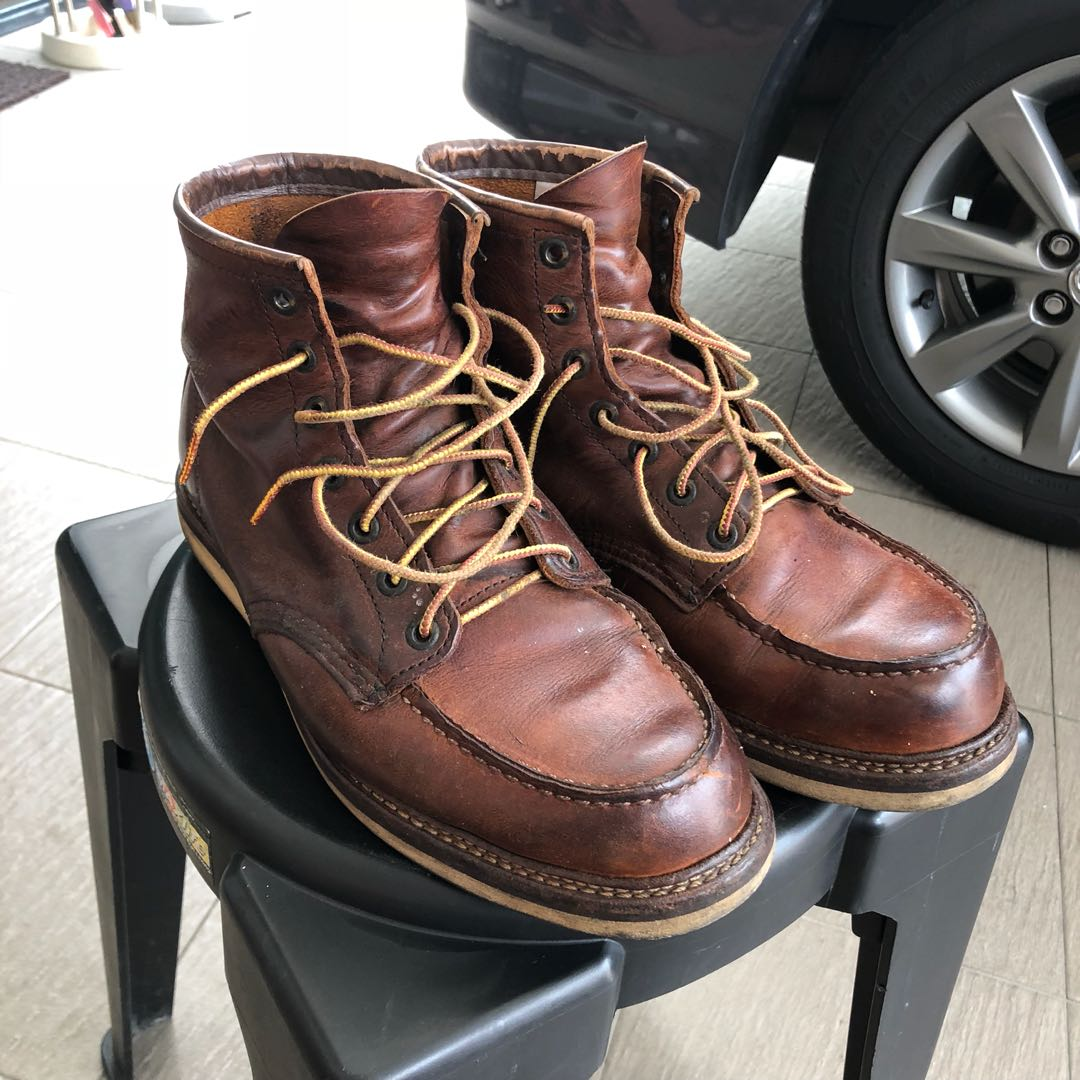 1555527ee84 Red Wing Classic Moc Toe Boots 1907, Men's Fashion, Footwear, Boots ...