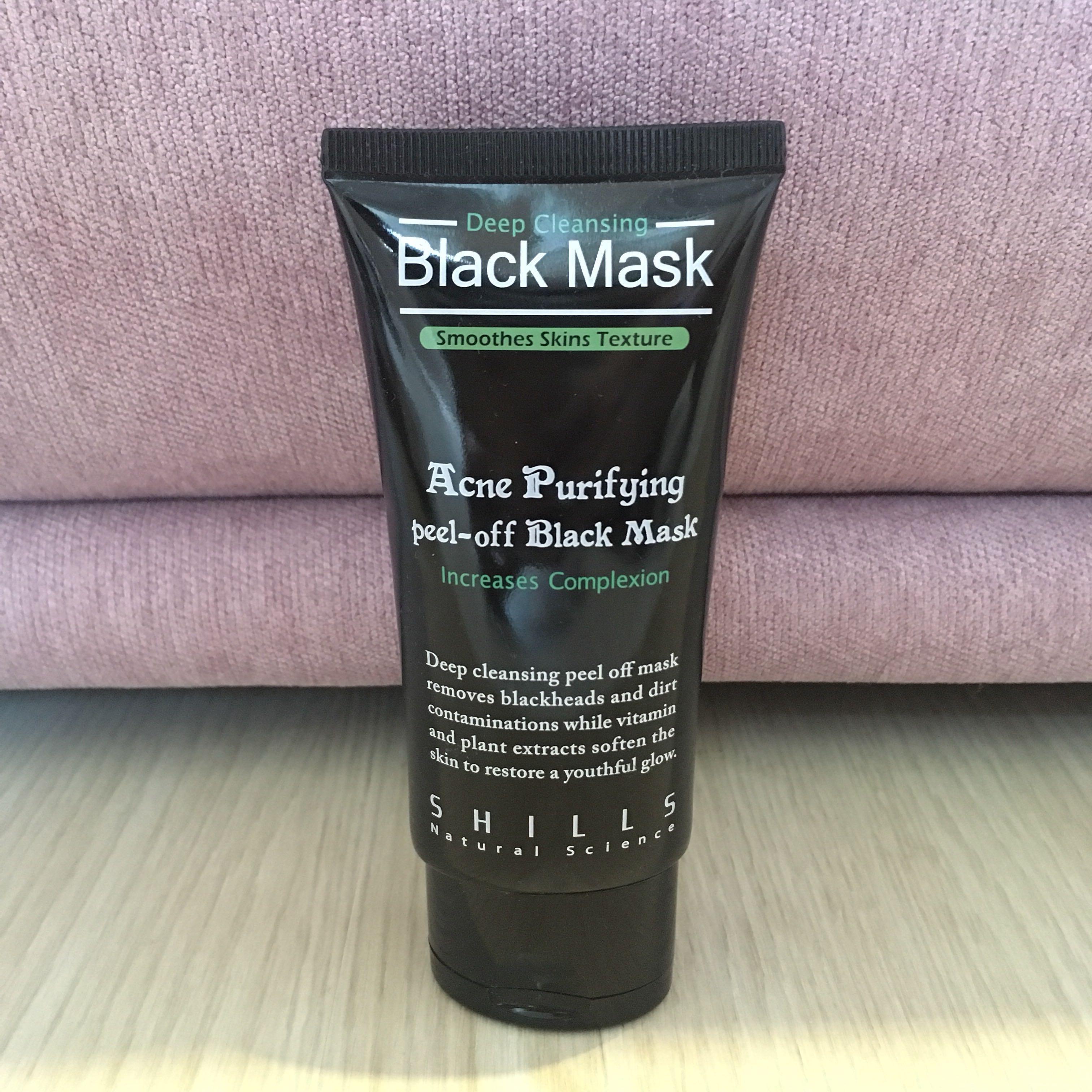 Shills Acne Purifying Peel Off Black Mask 20under Health Beauty Skin Bath Body On Carousell