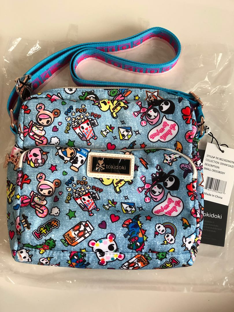 Tokidoki Denim Daze Small Crossbody Bag Women S Fashion