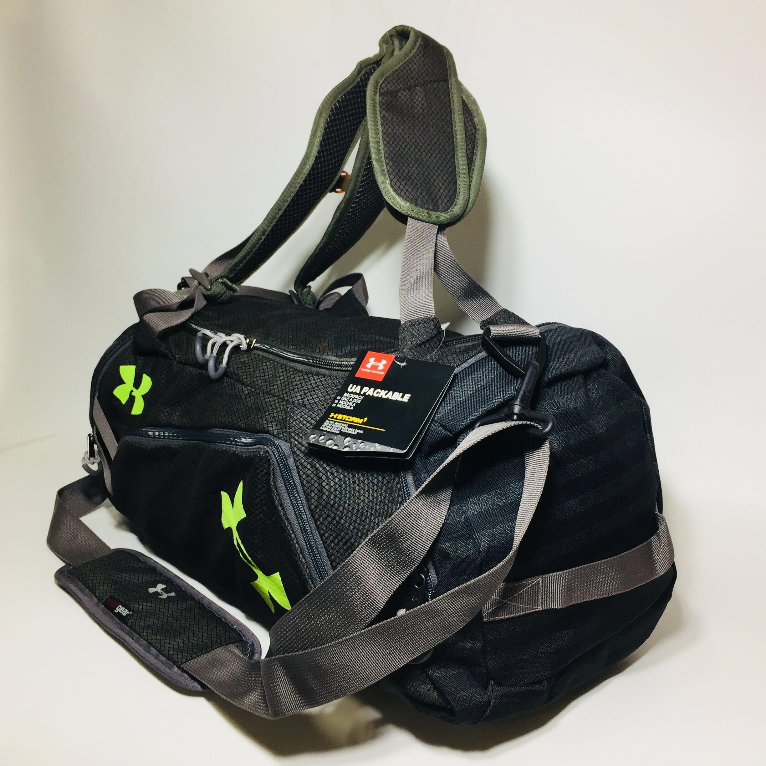 491904ab38 Under Armour Storm Contain Duffel Duffle Backpack