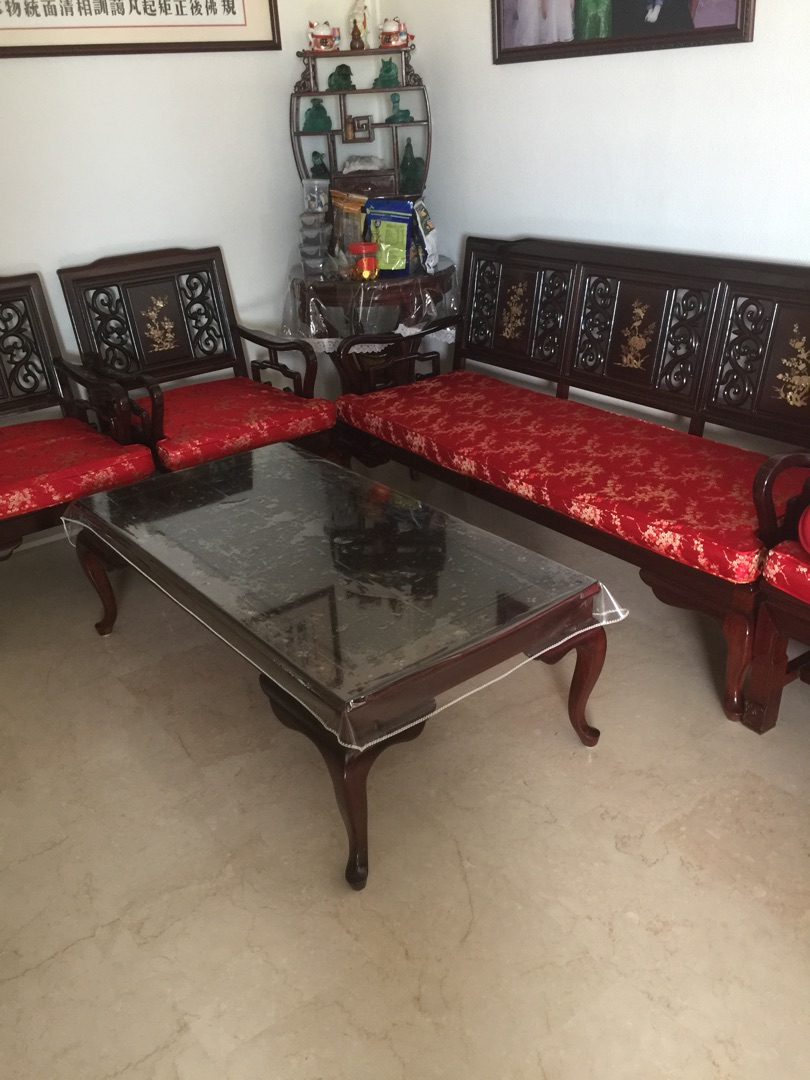 Used Rosewood Furniture For Sale Furniture Sofas On Carousell