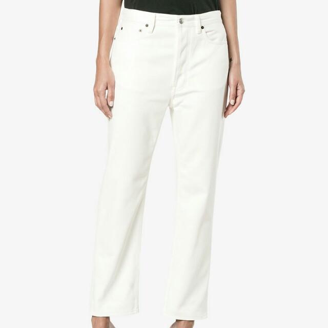 b8d3f6d73 White  Off White High Waisted Mom Boyfriend Jeans