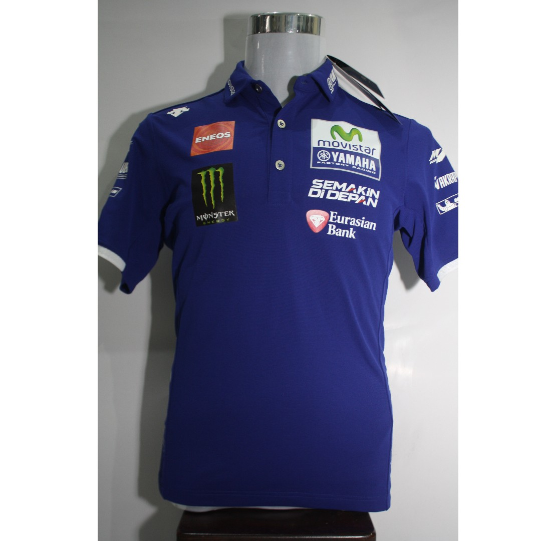 953a9292c YAMAHA OFFICIAL TEAMWEAR BY DESCENTE, Men's Fashion, Clothes on Carousell