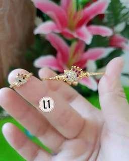 Gelang cincin  xuping anak cantik murah