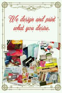 We design and print what.you desire