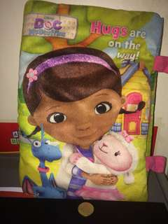 Doc Mcstuffins Pillow Book