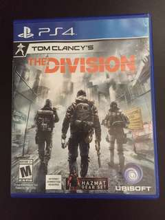 PS4 Tom Clancy's The Division (Used)