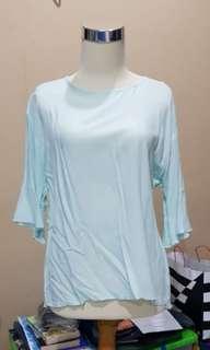 Cotton blouse mint