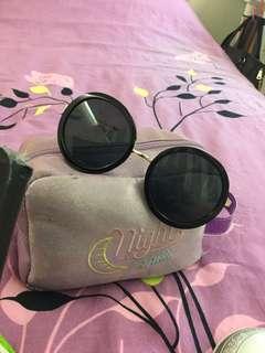 🚚 太陽圓筐眼鏡