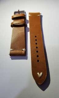 復古 真皮錶帶 20mm Vintage leather strap