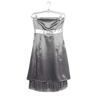 🚚 Izime Prom Gown in Metallic Gray (U.P. $79.90)