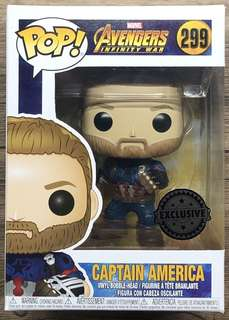 Funko Pop Captain America Infinity War