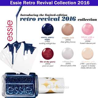 Essie Retro Revival Collection 2016