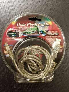 BNIB Data Flash Cable USB 2.0 Pro Series