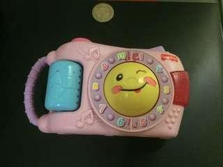 Fisher Price Camera Toy Light