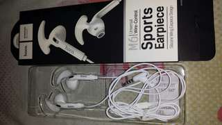 Sports Headset with microphone ( White )