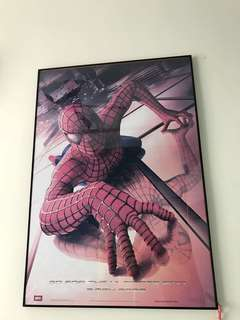 Spiderman Poster with Frame
