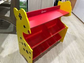 Kid Toy and Book Rack