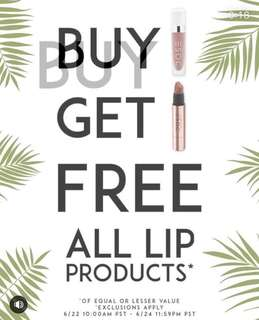 Dose Of Colors Lipstick BUY ONE GET ONE