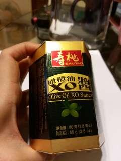 全新壽桃牌橄榄油XO醬附專用匙