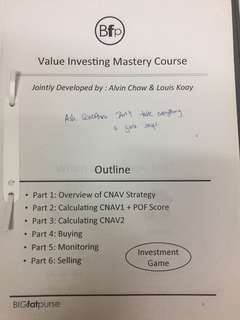 🚚 Big Fat Purse Value Investing Mastery Course Notes