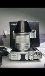 fujifilm xa2 lensa 16-50mm lengkap