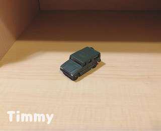 Yujin T-Art 扭蛋火車 扭蛋車 鐵路 鐵道模型 綠色吉普車