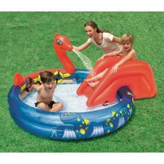 Kolam Renang Anak Perosotan Viking Play Pool Bestway #53033