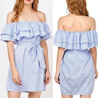 MEL Offshoulder Ruffle Dress
