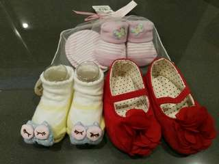 *BRAND NEW* Baby Girl's Booties & Shoes