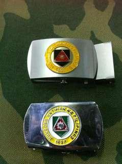 Garison belt for army