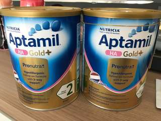 Aptamil HA Gold+ Stage 2 (2 Qty)
