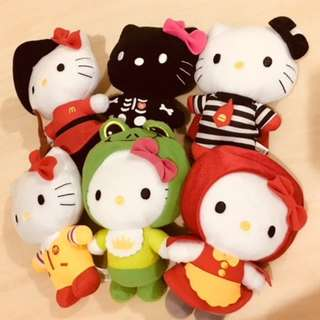 Hello Kitty McDonald's Colletiion