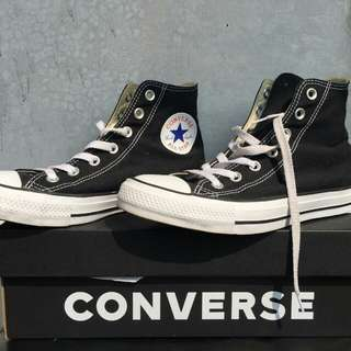 CONVERSE CT AS CANVAS HI BLACK - 39