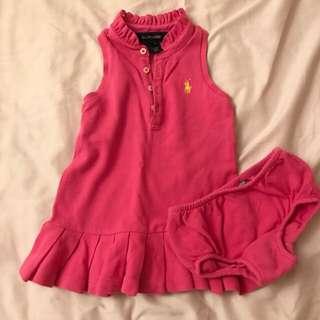 Polo Ralph Lauren Dress (12M)