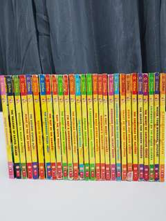 Geronimo Stilton books - a set of 28 books