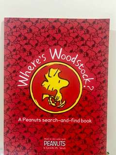 Snoopy : Where's Woodstock Book