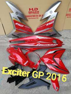 Y15zr Cover Set (ExciterGP2016)