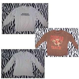 3 sweatshirts for 299