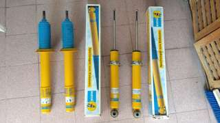 Bilstein B8 Shock Absorbers for BMW E39. Front (Used), Rear (New).