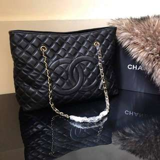 Chanel Quilted Tote in Lambskin