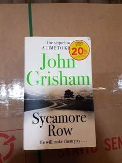 🚚 Sycamore Row by John Grisham