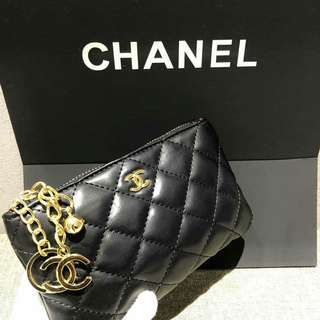 Chanel VIP Gift Pouch Lambskin