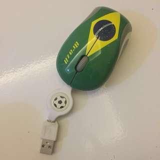 Mouse Brazil edisi World Cup #kanopixcarousell