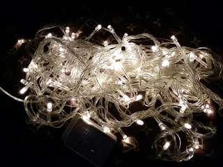 Lampu tumblr 10 meter warm white